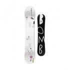 white bomb snowboard