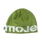 mojemoje čepice zelená-bílá