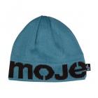 mojemoje čepice modrá-hnědá